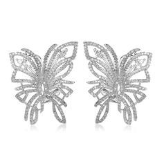 Vackra Och Koppar/Zirkon/Platina Damer' örhängen