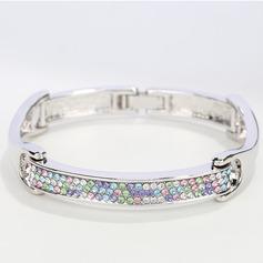 Dames Simple Alliage Strass/Cristal autrichien Bracelets elle/Amis
