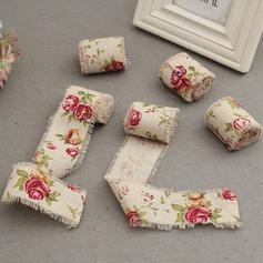 Simple/Style Classique/Design de fleur Charmant/Élégante Coton Ornements de mariage