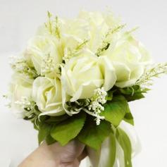 Attrayant Soie artificielle Bouquets de mariée -
