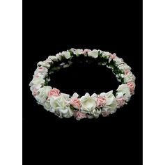 Hilado de la red con Flor venda de la flor