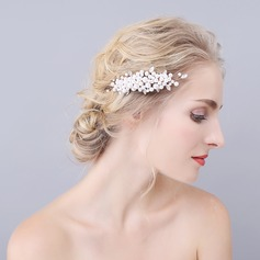 Mode De faux pearl Des peignes et barrettes