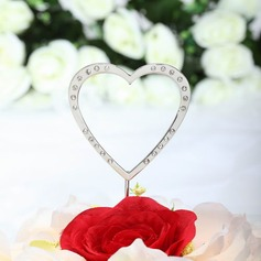 """""""Любя Вас всем сердцем"""" Хром Свадьба Фигурки для торта"""