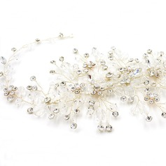 Ladies Exquisite Rhinestone/Alloy Hairpins With Rhinestone