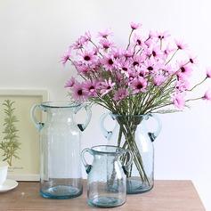 Atractivo Seda artificiales Ramos de novia/Decoraciones/Flores en la Mesa de Boda ( conjunto de 6) -