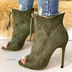 De mujer PU Tacón stilettos Salón Encaje أحذية