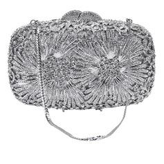 Elegant Crystal/ Rhinestone/Alloy Clutches