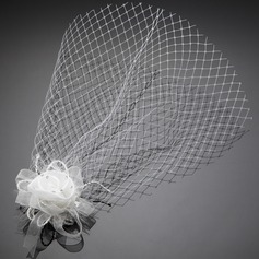 Lovely Artificial Silk/Tulle Fascinators