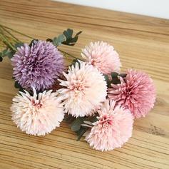 """Style Classique """"Belle Fleur"""" Tissu Fleurs artificielles (lot de 4)"""