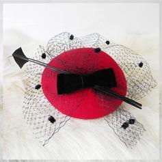 Glamorösa Ull Hatt