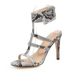 Vrouwen PU Stiletto Heel Sandalen Pumps Peep Toe met Anderen schoenen