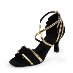 Women's Suede Latin Dance Shoes