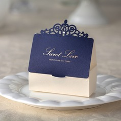 Sweet Love House Shaped Favor Boxes (Set of 12)