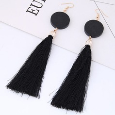 Beautiful Alloy Wood Women's Fashion Earrings