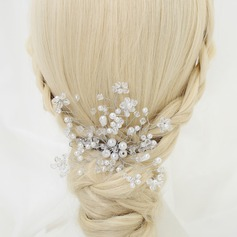 Glamourous Rhinestone/Alloy/Imitation Pearls Combs & Barrettes