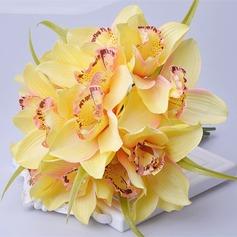 Encanto Atado a mano Seda artificiales Ramos de novia/Ramos de la dama de honor -