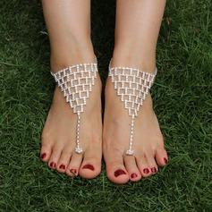 Strass Alloy Foot Sieraden Accessoires