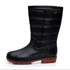 Men's PVC Rain Boats Casual Men's Boots (261172561)