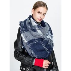 Цветной блок шея/привлекательный/Холодная погода акрил Шарф