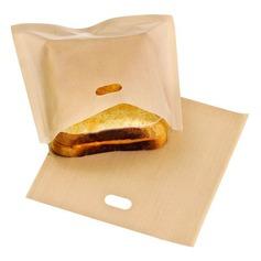 modern Klassiek Non Stick Herbruikbare Toaster Tassen voor Sandwich and Grilling (Set van 6) Niet-Persoonlijk Geschenken