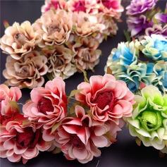 Gentil/Beau/Design de fleur Jolie Plastique Fleurs artificielles (Lot de 60)