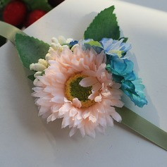 Sweet Satin/Silk Wrist Corsage -