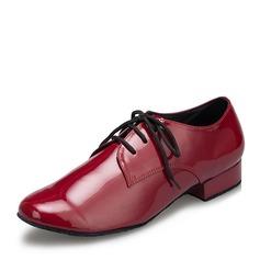 Hommes Similicuir Chaussures plates Salle de bal avec Dentelle Chaussures de danse