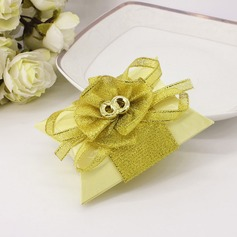Lovely Card Paper Favor Boxes With Bow (Set of 12)