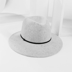 Unisex Simple/Nice Wool Fedora Hats/Panama Hats