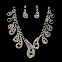 Pretty Alloy/Rhinestones Jewelry Sets