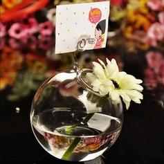Красивая стекло ваза