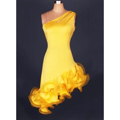 Women's Dancewear Spandex Latin Dance Leotards