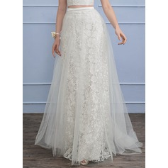 Sweep Train Tulle Lace Wedding Dress