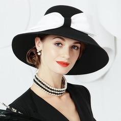 Damer' Iögonfallande Ull Diskett Hat