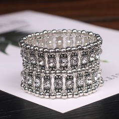 Unik Legering med Strass Kvinnor Mode Armband (Set av 2)