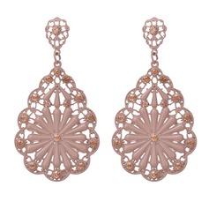 Beautiful Alloy Rhinestones With Rhinestone Ladies' Fashion Earrings
