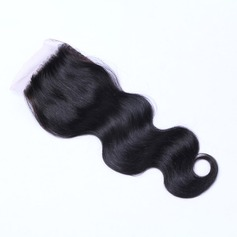 5A Virgin / remy Corps les cheveux humains Fermeture (Vendu en une seule pièce) 40g