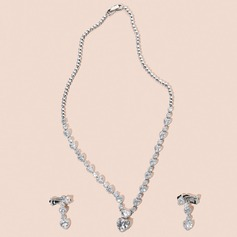 Elegant Romantic Zircon Jewelry Sets For Bride For Bridesmaid For Mother For Friends