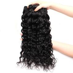 4A Nicht remy Wasserwelle Menschliches Haar Geflecht aus Menschenhaar (Einzelstück verkauft) 100g