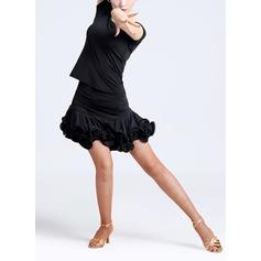 Donna Abbigliamento danza Nylon Ballo latino Completi