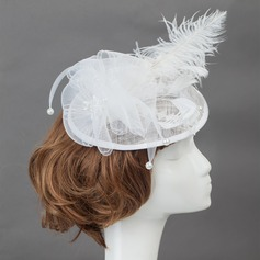 Amazing Feather/Cotton Fascinators/Flowers & Feathers