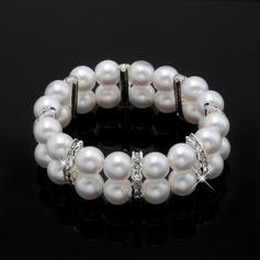 Jonc Assortiment/Perle avec Perle/Strass filles Bracelets