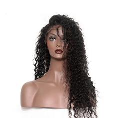 360 Frontal 4A Profond les cheveux humains Fermeture (Vendu en une seule pièce)