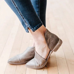 Femmes Similicuir Talon bas Chaussures plates chaussures