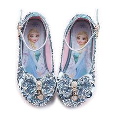 Fille de Bout fermé similicuir Chaussures de fille de fleur avec Bowknot Paillette