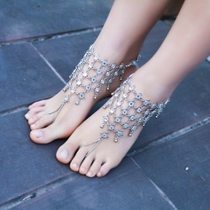Alloy Foot Jewellery (Sold in a single piece) (107130774)