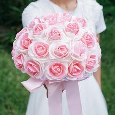 Round PE Bridal Bouquets - (123073957)