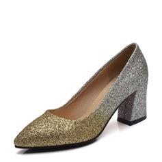 Frauen PU Stämmiger Absatz Absatzschuhe mit Andere Schuhe