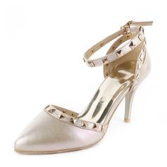 Kvinder PU Stiletto Hæl sandaler Pumps med Nitte sko