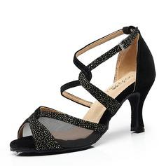 Femmes Suède Latin Chaussures de danse